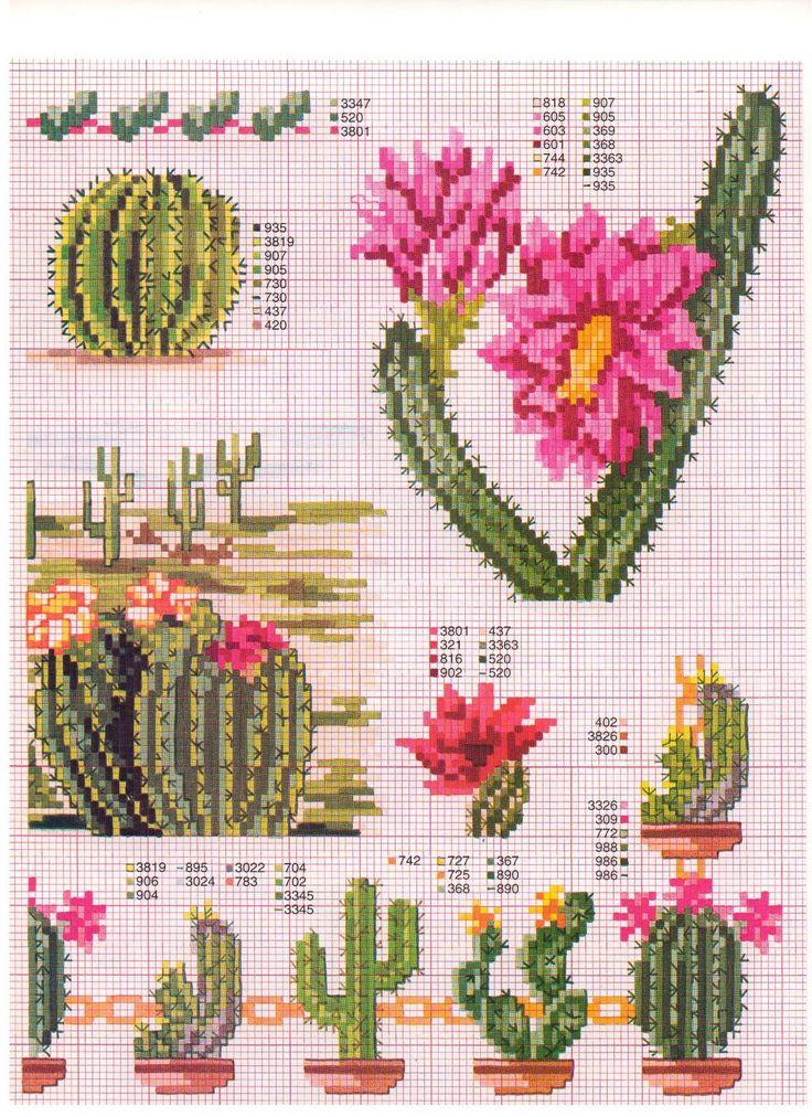 punto de cruz cactus | Posted by Katty viernes, 21 de mayo de 2010 3 comments