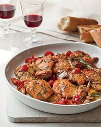 Chicken Scarpariello AB: Was easy to make and very flavorful.  Served with mashed potatoes and it was a great side. @foodandwine
