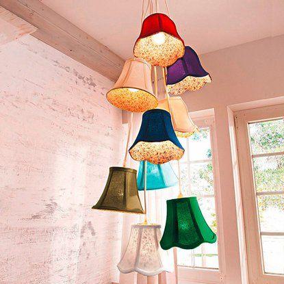 Best of home Pendelleuchte EEK: E-A++ Bunte Lampenschirme kaufen bei OBI