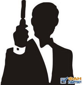 50 лет Бонда в 24 постерах, Джеймс Бонд Агент 007.