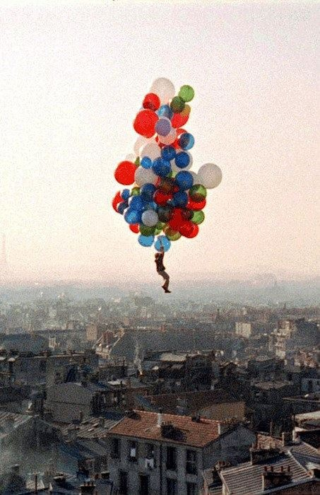 <3Paris, French Film, Buckets Lists, Real Life, Dreams, Red Balloons, Kids, Childhood, Photography