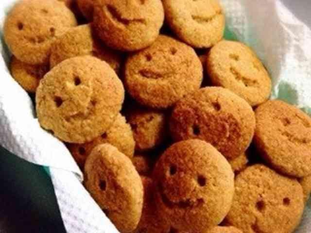 米ぬか・きな粉&ごまクッキー