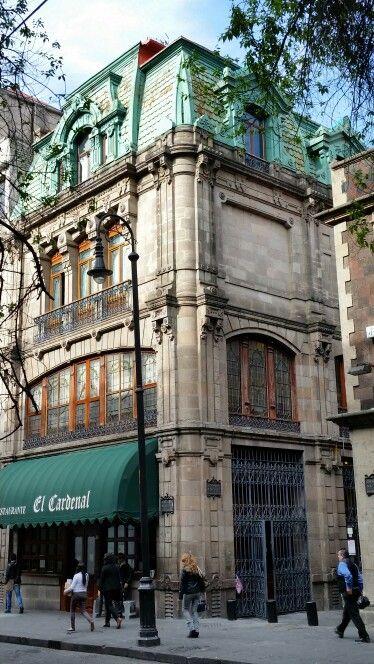 El Zona Cardenal, best food downtown México City