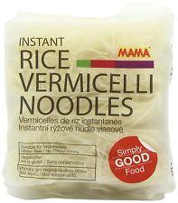 Mama instantánea arroz Vermicelli Otoñal Fideos 225 G (paquete De 6)
