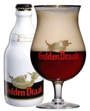 Belgium doin' it right - Gulden Draak (Belgian Strong Dark Ale).