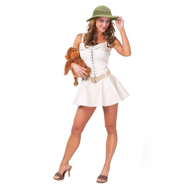 Sexy Sock Monkey Womens Adult Costume