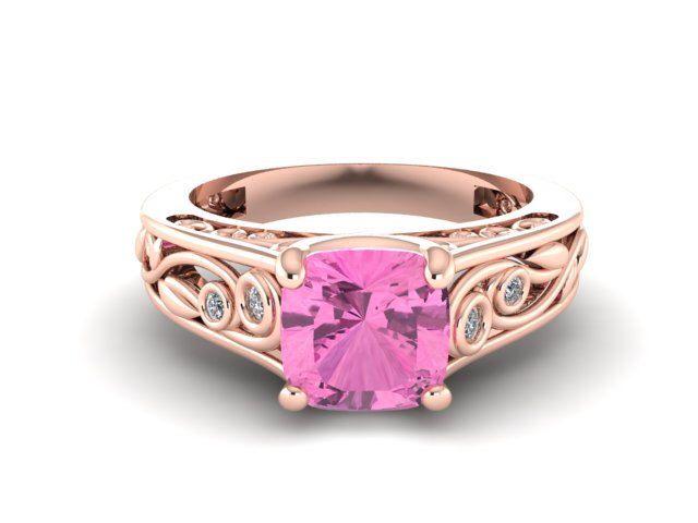Wedding and Engagement Diamond Ring, Anniversary Vine and Leaf Feminine Diamond Rings, Diamond Engagement Ring, Rose Gold Bridal Ring by BridalRings on Etsy https://www.etsy.com/listing/241148895/wedding-and-engagement-diamond-ring