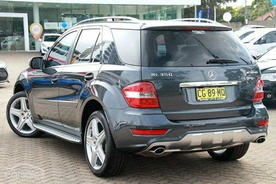 2010 Mercedes-Benz ML350 Auto 4x4 MY10-$44,888*