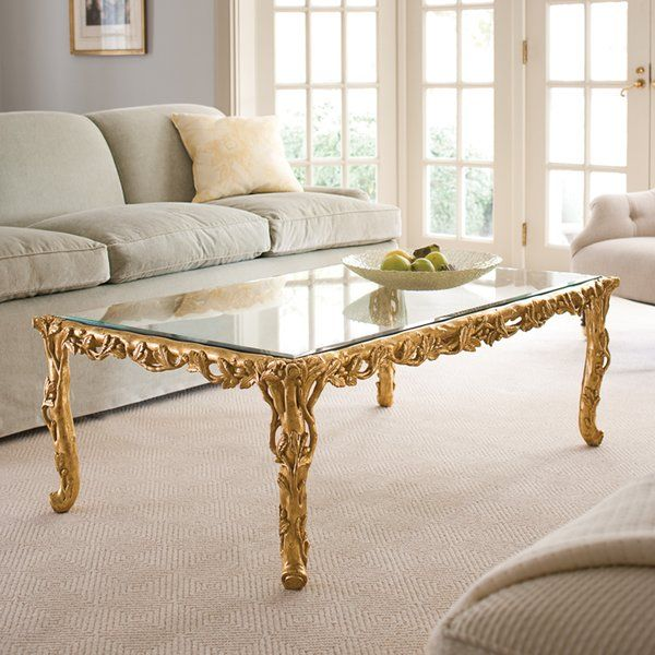 Baroque Coffee Table Hand Carved Coffee Table Coffee Table Wood