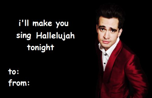 band valentines day card | Tumblr