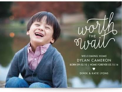 adoption announcement for toddler girl - Google Search