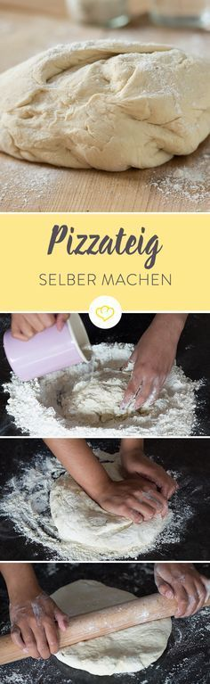 Von der Grundmischung bis zum richtigen backen - mit diesen Tricks wird Pizzateig Selbermachen zu einer deiner leichtesten Übungen.