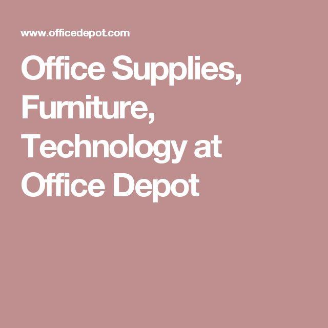 Beautiful Office Supplies, Furniture, Technology At Office Depot