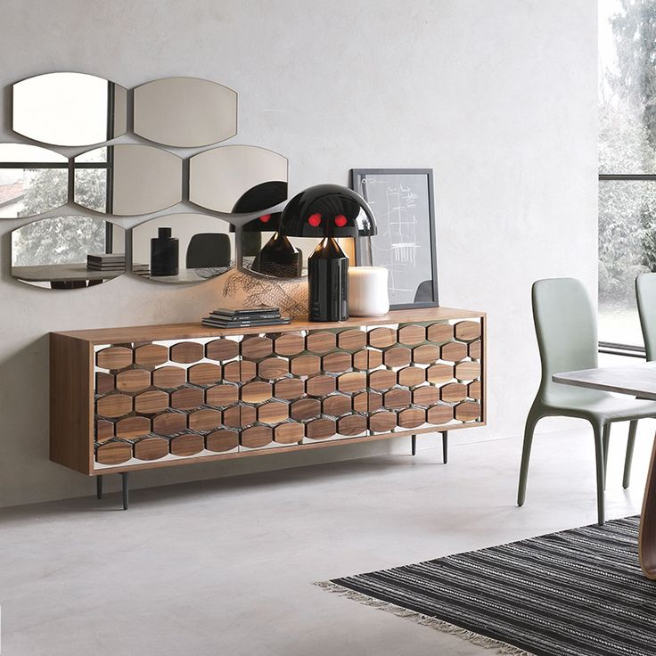 Nice Inspired By The Beehive Pattern With A Nod To 50u0027s Design, This Sideboard  Will Brighten