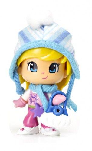 Pinypon Figuras Nieve: niña gorrito azul. #Pinypon #minidolls #toys #juguetes #dolls #fantasy #kids #ToyStore