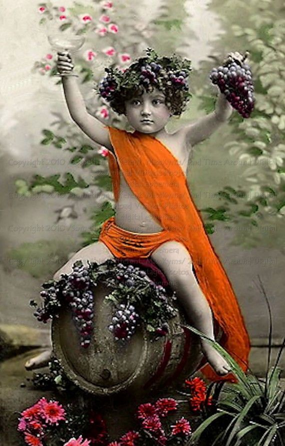 Dionysus is the Greek God of Wine! Hooray! This little boy ...