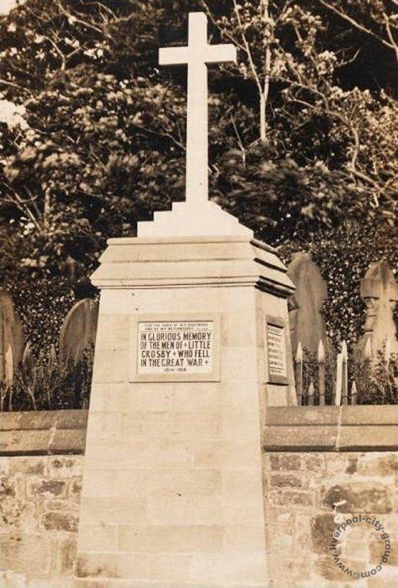 Liverpool, history, liverpool-history-l23-crosby-war-memorial-1923