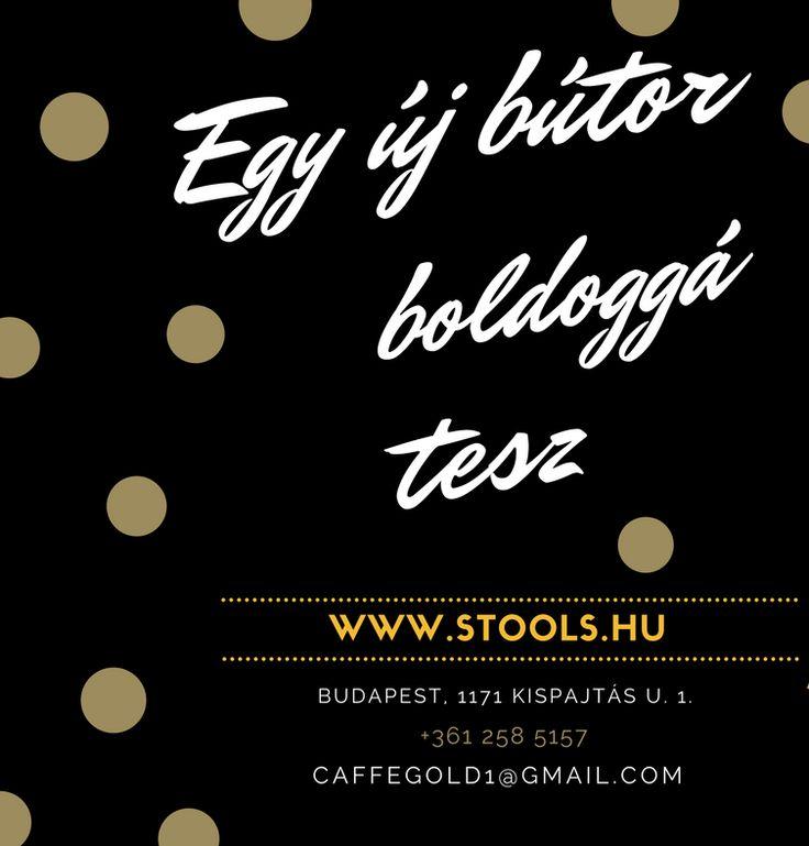 Egy új bútor boldoggá tesz. www.stools.hu