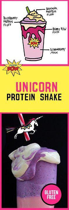 Unicorn Protein POW Shake - Protein Pow