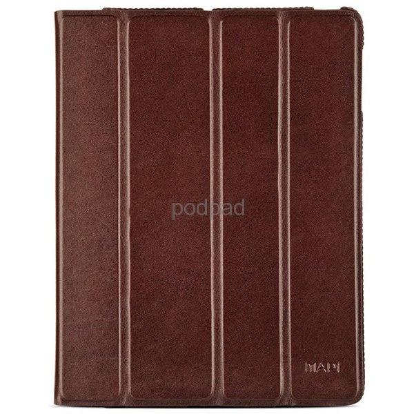 MapiCase Kolossa eksklusivt skinnetui til iPad - brun