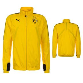 Puma Borussia Dortmund Stadium Soccer Jacket (2017/18): http://www.soccerevolution.com/store/products/PUM_45070_A.php