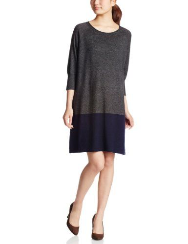Amazon.co.jp: (ユナイテッドアローズグリーンレーベルリラクシング) UNITED ARROWS green label relaxing GC W/RY/NY ハイショクワンピース: 服&ファッション小物