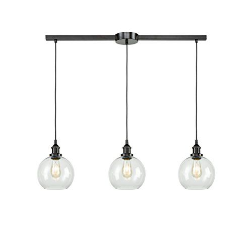 EUL Industrial Kitchen Island Lighting Linear Pendant