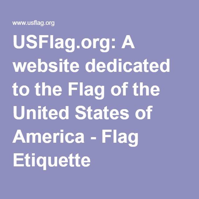 flag etiquette on memorial day