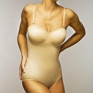 Body Wrap 44003 Seamless Firm Control Convertible Strapless Bodysuit. Can be worn 5 different ways. Regular Straps, Strapless, Halter, Criss Cross, Clear Straps. Provides firm control to... More Details