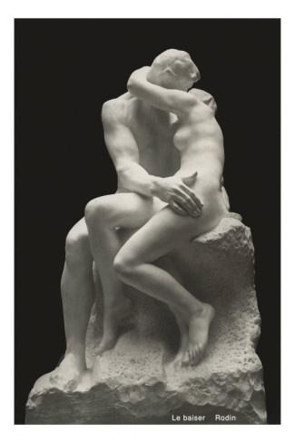"""""""Amor, ch'a nullo amato amar perdona / mi prese del costui piacer sì forte, / che, come vedi, ancor non m'abbandona."""" __ Dante, Inferno, Canto V [Credit Auguste Rodin, """"The Kiss""""  which was originally titled Francesca da Rimini]"""