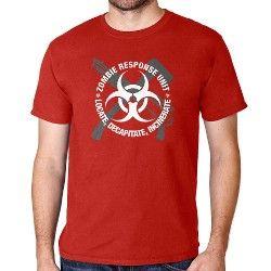 Gifts For The Modern Man   Modern Man Gift Ideas - CafePress Zombie Response Unit Shirt