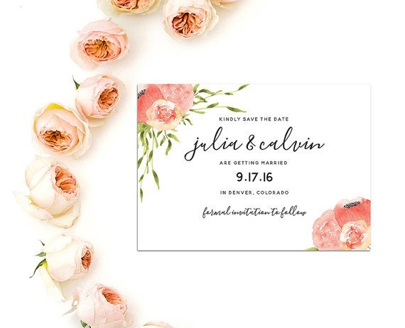 Best Save The Date Cards Images On   Printable Cards