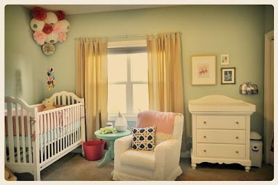 Vintage Inspired Baby Nursery