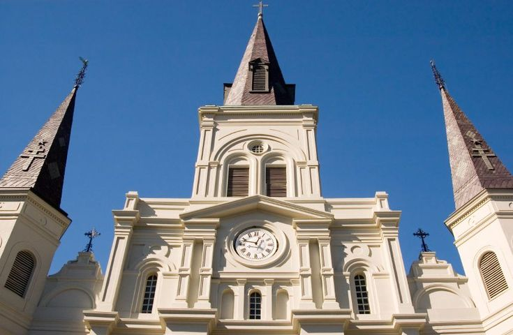 The St. Louis Cathedral is one of the most famous landmarks in New Orleans. Every year hundreds of thousands of people gaze upon its beauty both from Jackson Square and within its doors. Self-guided brochures are available at the entrance with the donation of just $1.