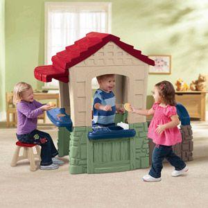 Little Tikes Secret Garden PlayhousePlayhouses Ideas, Secret Gardens, Little House, Outdoor Kids, Tikes Secret, Kids Outdoor Play, The Secret Garden, Gardens Playhouses, Little Tikes
