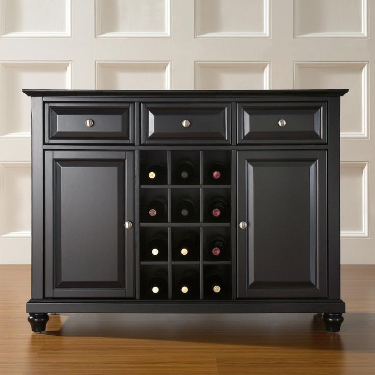Crosley Furniture KF42001D Cambridge Buffet Server Sideboard Cabinet At ATG Stores Contemporary Dining RoomsContemporary