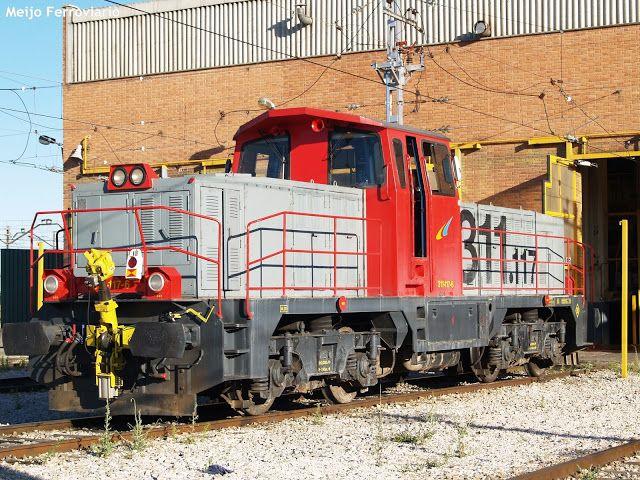 Meijo Ferroviario, el ferrocarril en Salamanca y el lejano oeste español: Las locomotoras diésel serie 311 de Renfe, unas má...