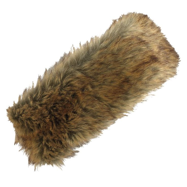 The Turtle Fur Fancy Fur Headband features faux fur with a microfleece lining for extra warmth. Elasticized back ensures a great fit. - Faux Fur/Polyester Blend - Fully Lined with Microfleece - Dry Cl