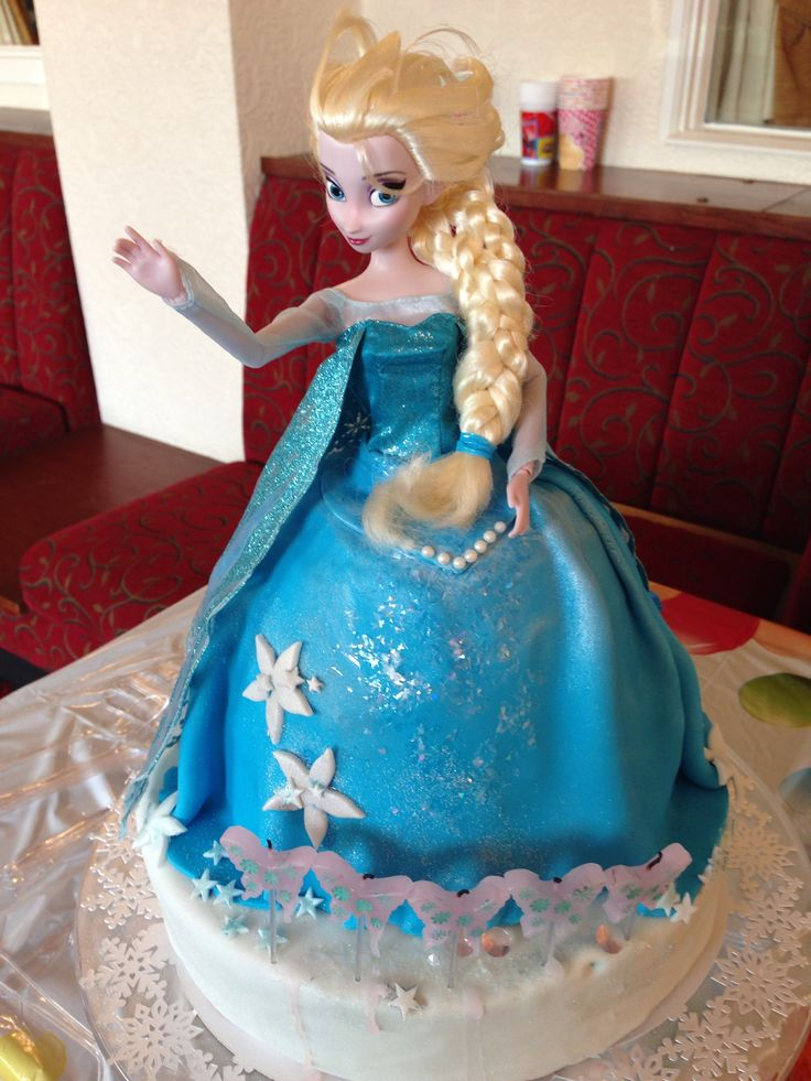 Princess Elsa Cake Images : 17 Best images about Cake Design - Kids dolls on Pinterest ...