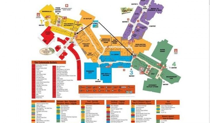 Colorado Mills Mall Map sawgrass mills outlet city video ...