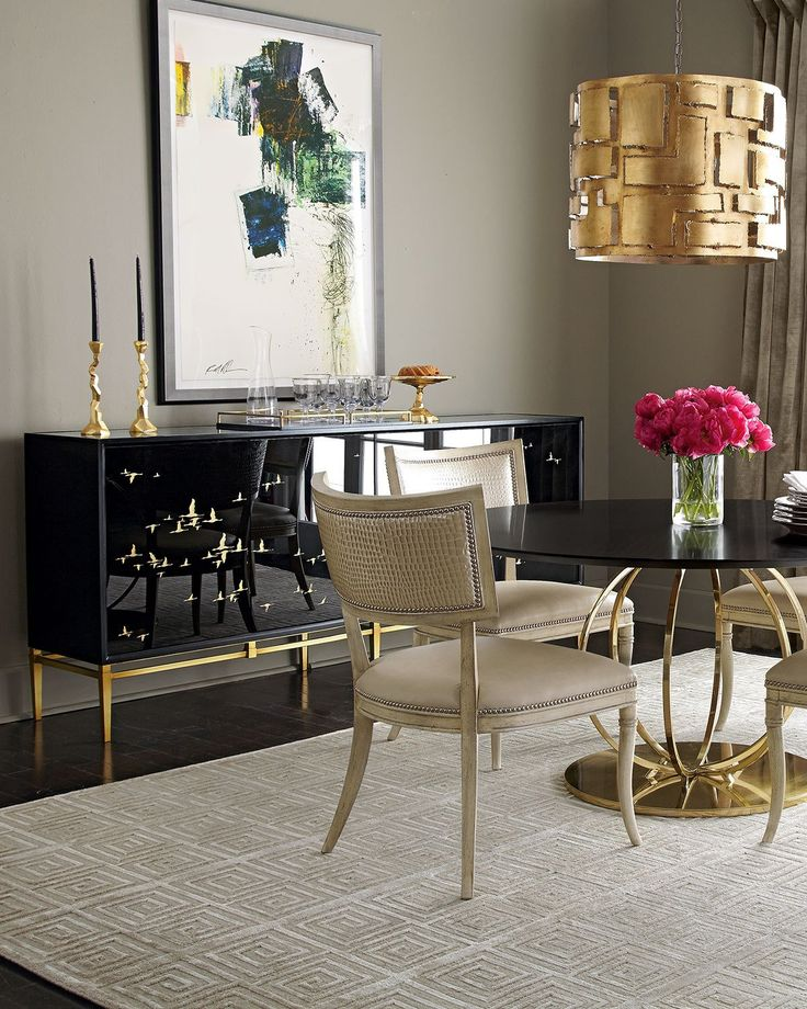 Rollins Console Table: John-Richard Collection Marla Noir Console In 2019