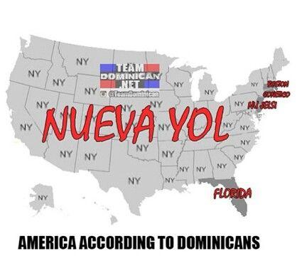So freaking true. I say Arizona/texas they look at me like I have no head. So I just say nueva yol