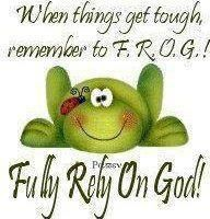Fully Rely On God Frogs - Yahoo Search Results