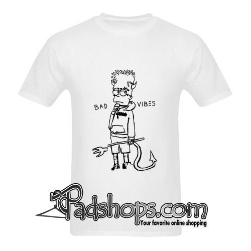 Bad Vibes Bart Simpson T Shirt Tank Top Collection Bart Simpson
