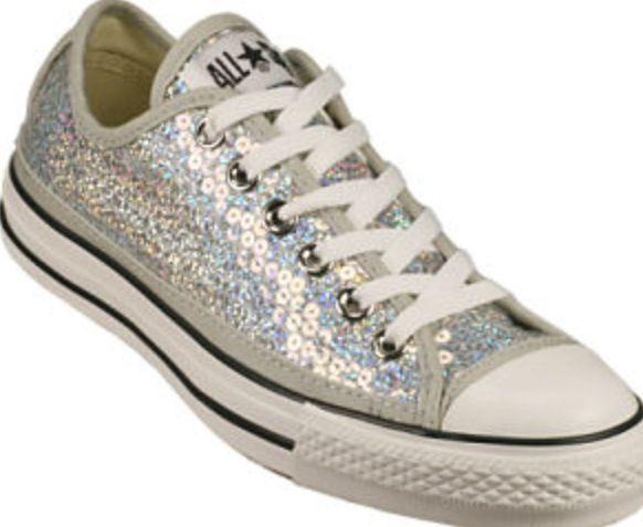 shiny converse shoes