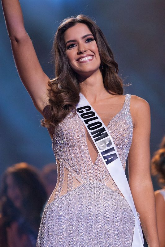 Miss Universe 2014 Winner Paulina Vega  of Colombia