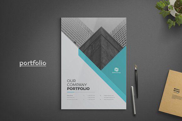 Company Portfolio by ThemeDevisers on @creativemarket Templates