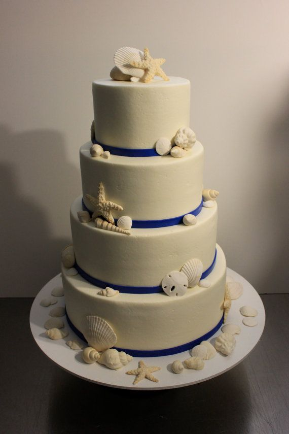 17 best images about wedding cakes on pinterest starfish seashell wedding cakes and seashell. Black Bedroom Furniture Sets. Home Design Ideas