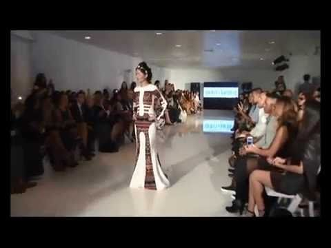 19 year old Reshma Bano Qureshi walks on the Runway at the New York Fashion week, like a pro...looking every bit of a diva that she is. Watch her here: