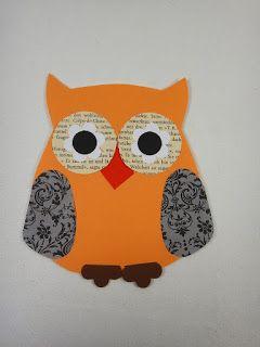 Ines Felix - Kreatives zum Nachmachen: Laminierte Papiereulen